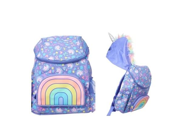 smiggle hoodie junior character backpack