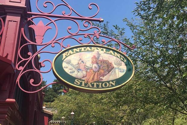 Fantasyland-station