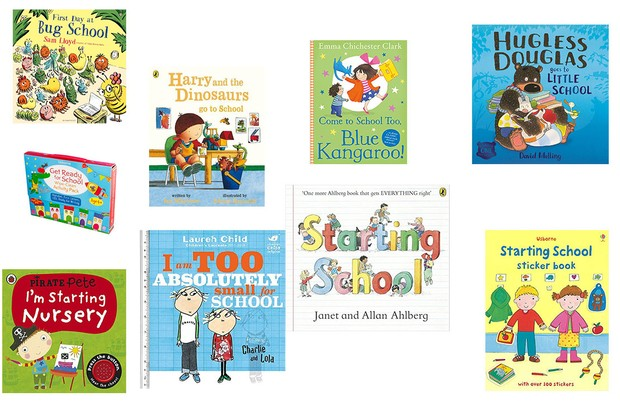 best books for starting school or nursery