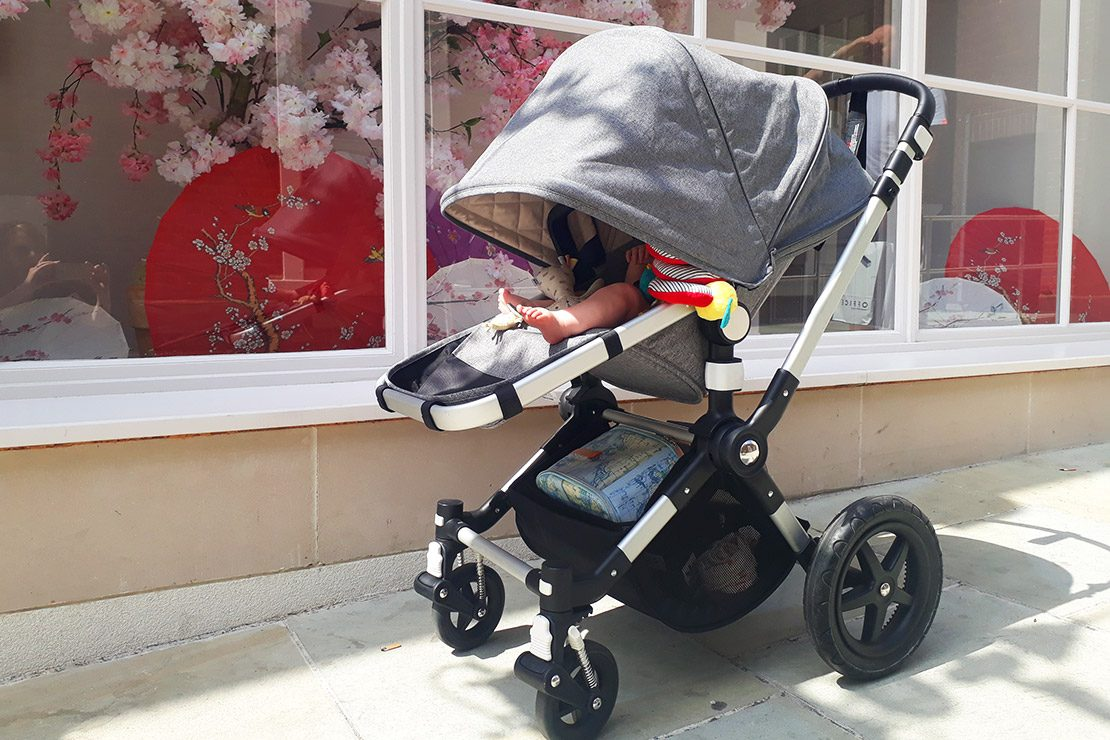 New RAINCOVER Zipped to fit Bugaboo Cameleon Carrycot /& Pushchair Seat Unit