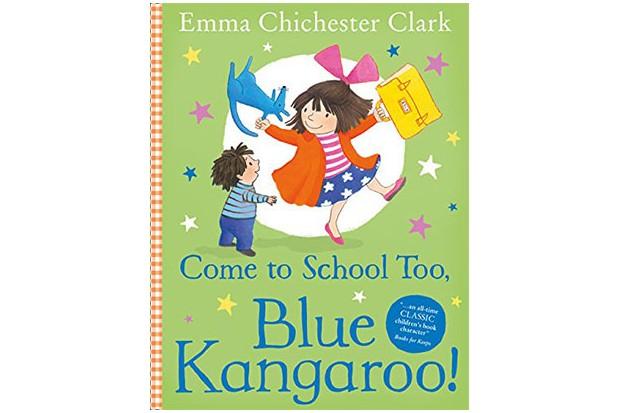 come to school too blue kangaroo