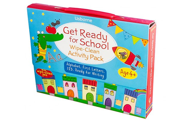 Get ready for school wipe clean activity pack