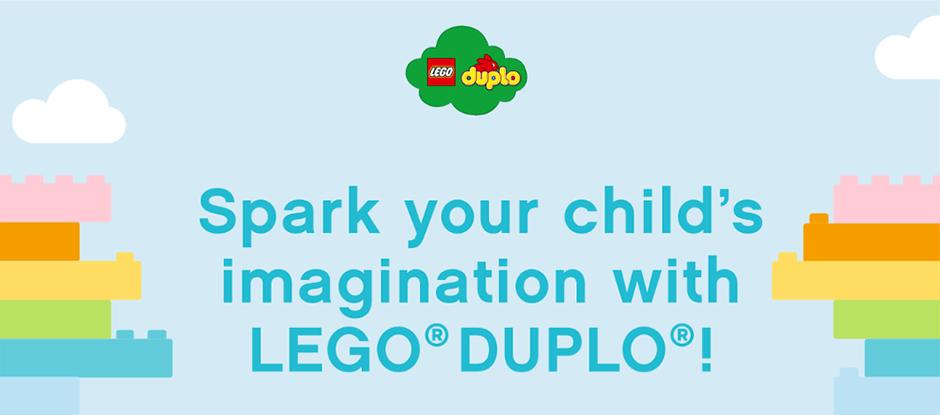 Lego Duplo - Imagination Advertorial header