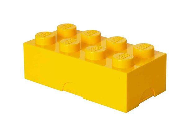 Lego Lunch Mini Box 8 Bright Pink