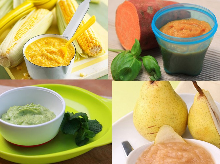 Best easy, nutritious puree recipe ideas for weaning babies - MadeForMums