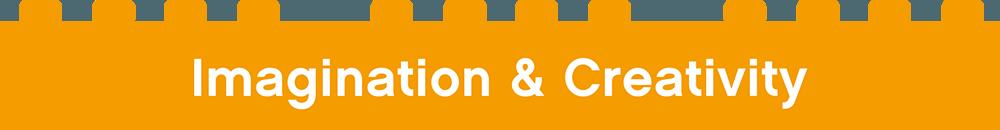 Imagination & Creativity orange button