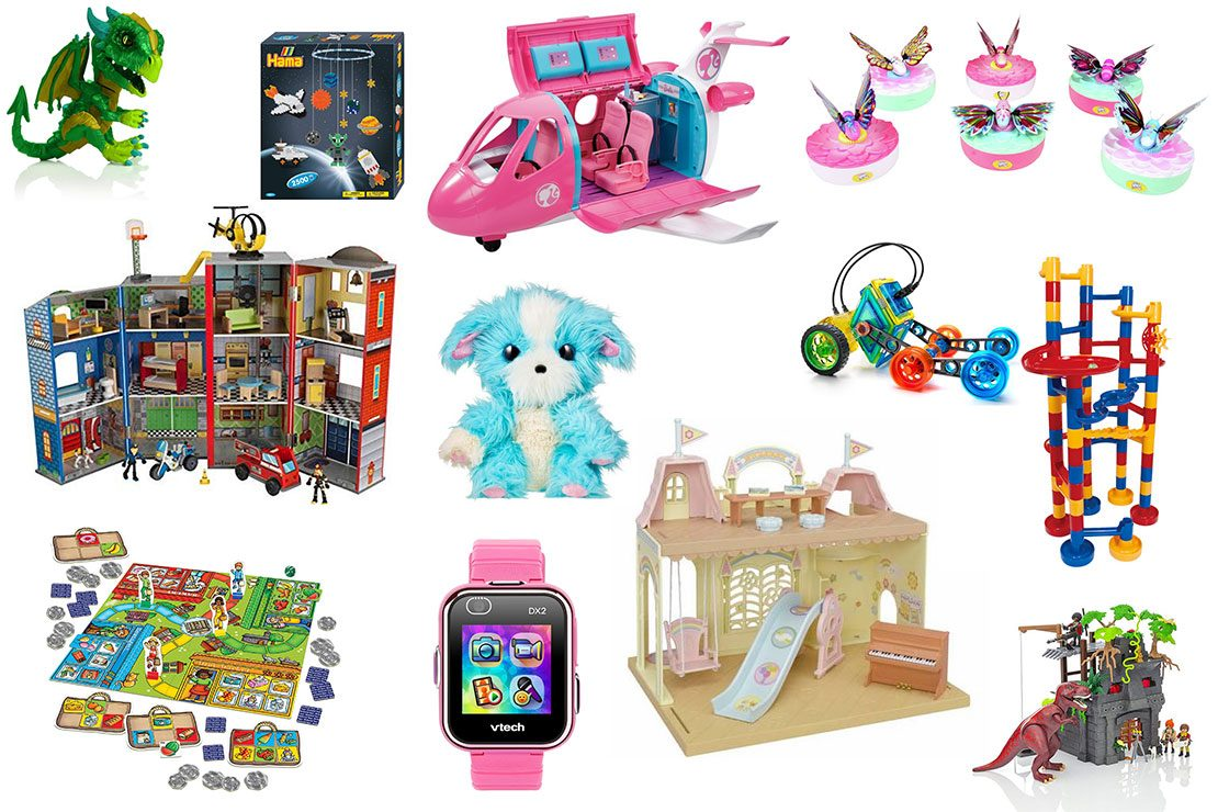 GIRLS PRETEND PLAY WITH 15 THEMED ACCESSORIES BARBIE DREAM PLANE PLAYSET TOY