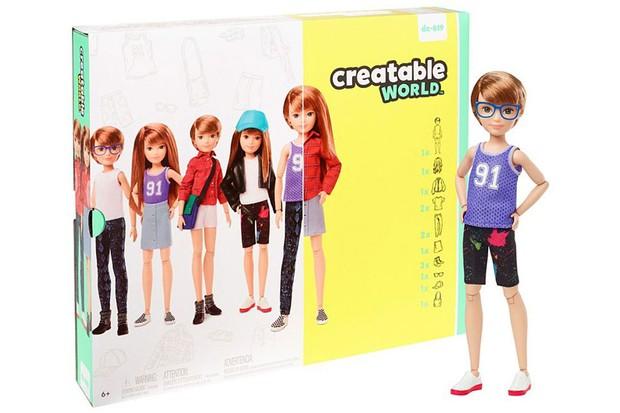 mattel creatable world dolls