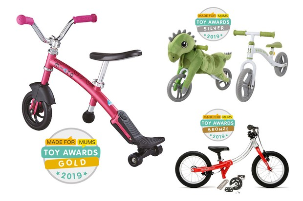 Toy Awards balance bikes