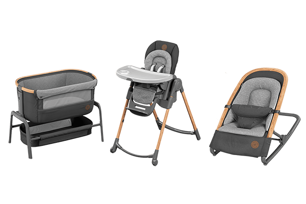 Maxi-Cosi highchair, co-sleeper and rocker