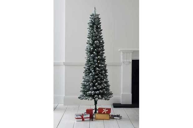 Next-100-LED-Snowy-Slim-6ft-Christmas-Tree