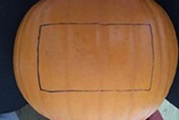 jail outline for pumpkin carving