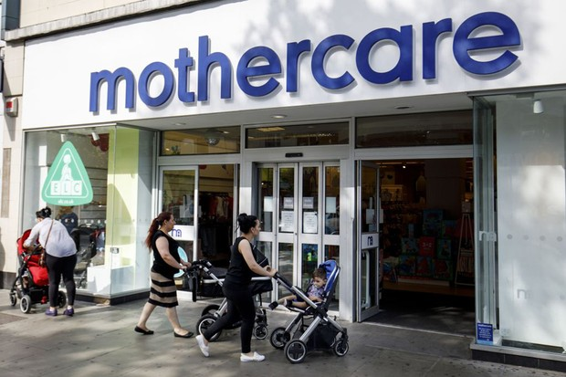 Closing down sale at Mothercare