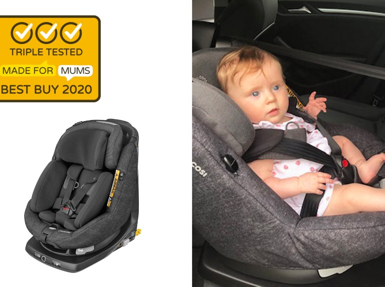 Maxi Cosi Axissfix Plus Car Seat Review Car Seats From Birth Car Seats Madeformums