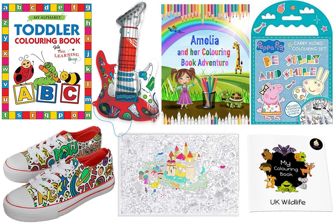 10 Best Colouring Books For Toddlers And Kids - MadeForMums