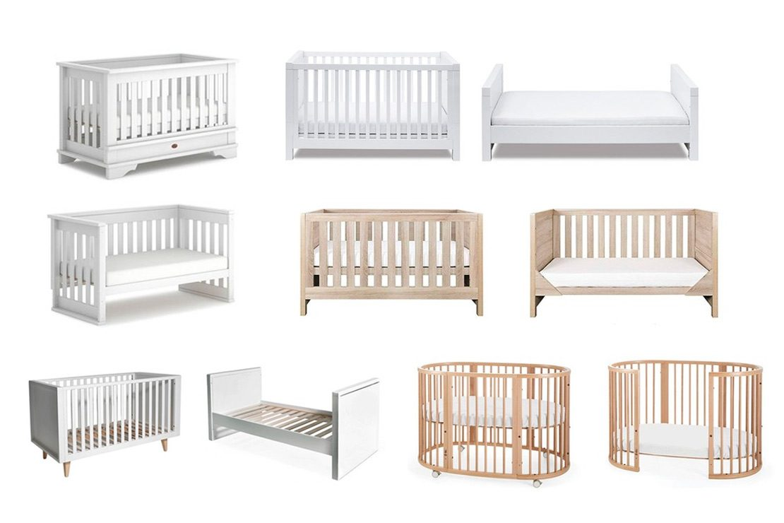 Lightweight Cool Grey Finish Universal Sizing Fits All Cots Tutti Bambini Wooden Cot Top Changer