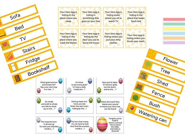 36 Free Easter Egg Hunt Clues To Download And Print 2020 Madeformums