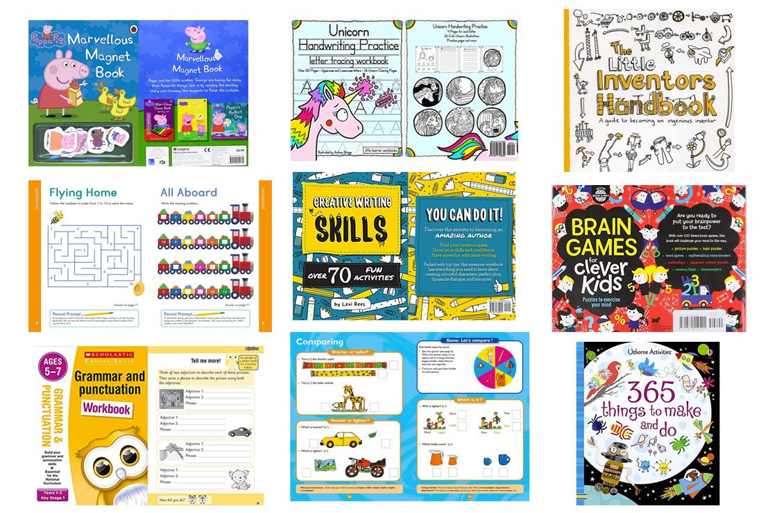 Best Activity And Home Learning Books For Kids 2021 - MadeForMums