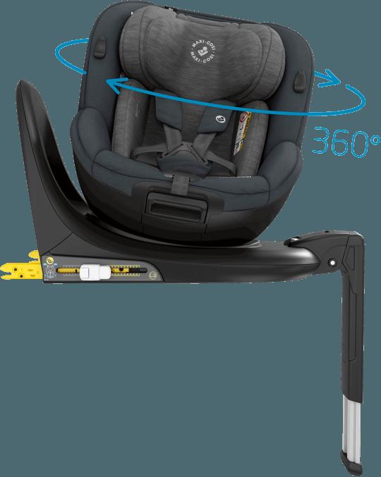 Mica's flexible 360° car seat