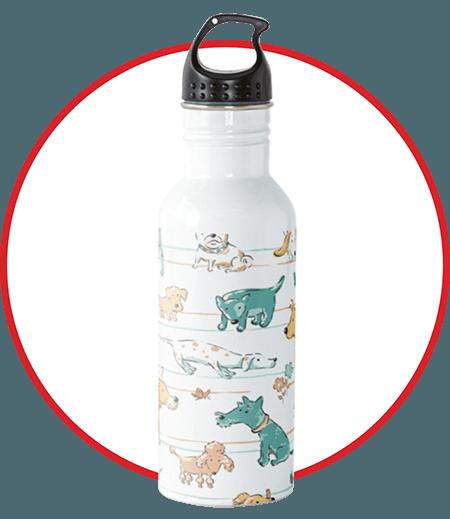 Dogs Dogs Dogs Water Bottle