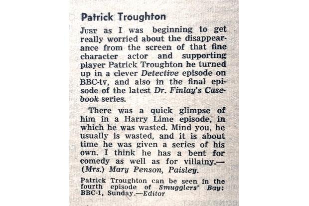 RT letter 30.7.1964