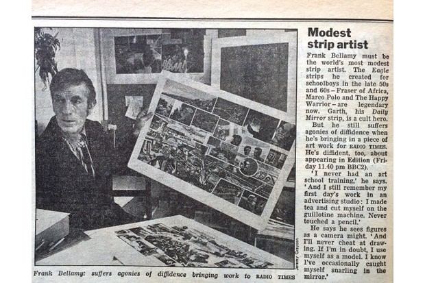 RT Nov 1973 Frank Bellamy
