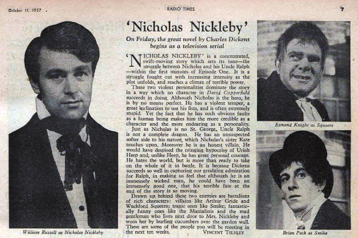 Nicholas Nickleby RT 1957