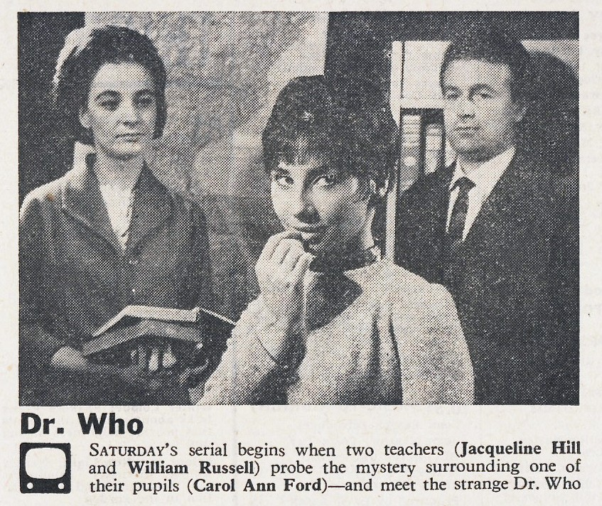 Unearthly Child RT 1963