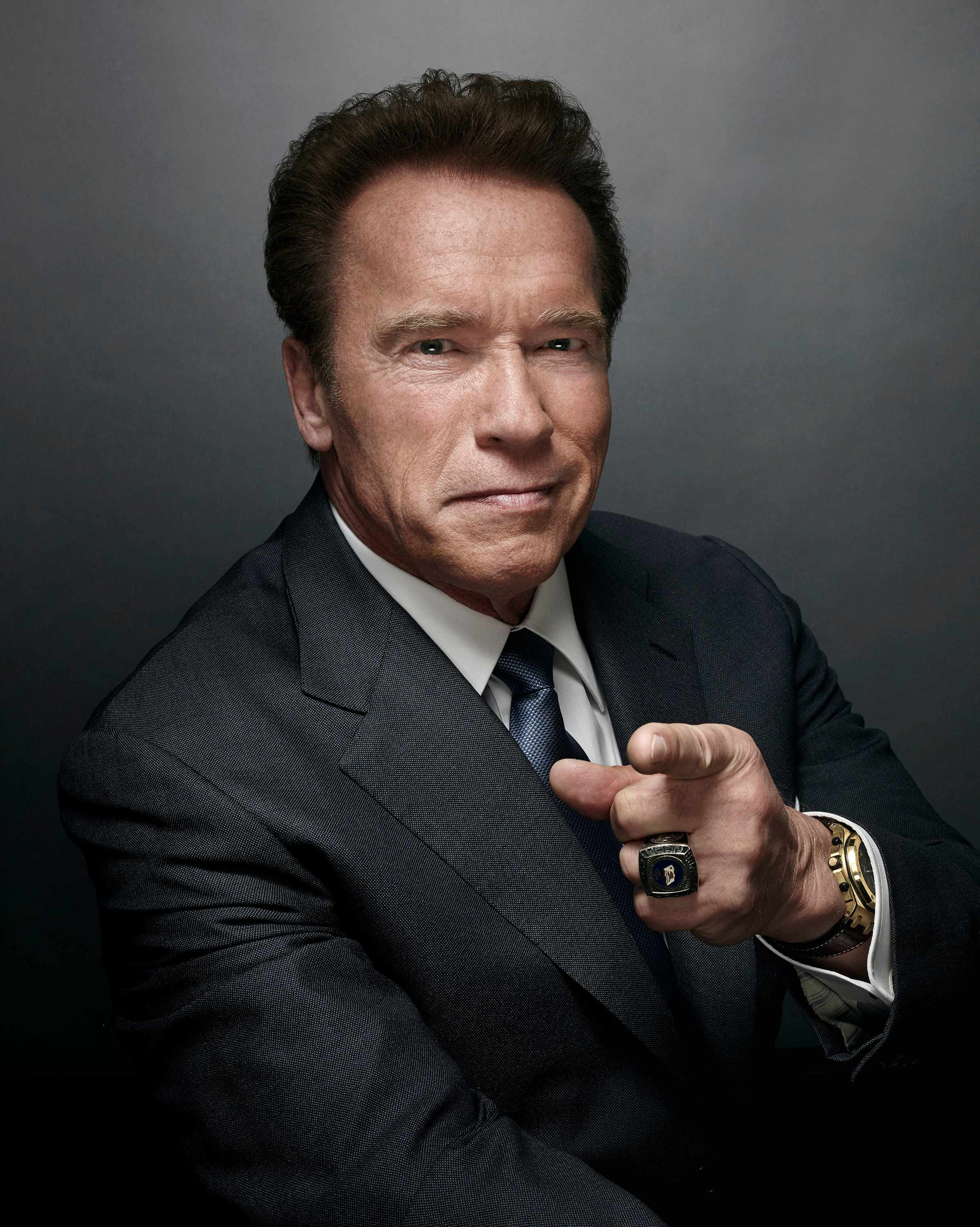 Arnold Schwarzenegger -- (Photo by: Art Streiber/NBC/NBCU Photo Bank via Getty Images)
