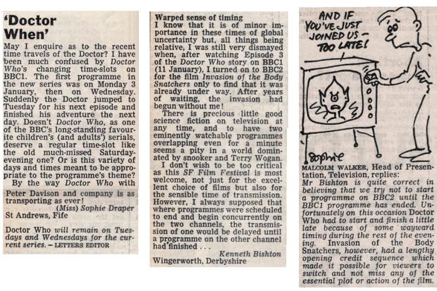 letters 5 Feb 1983