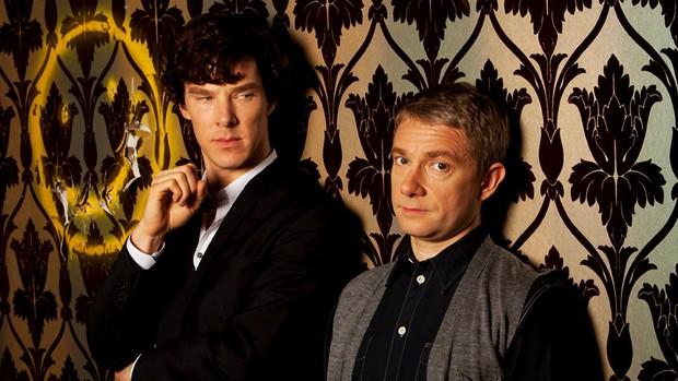 Sherlock – Benedict Cumberbatch and Martin Freeman
