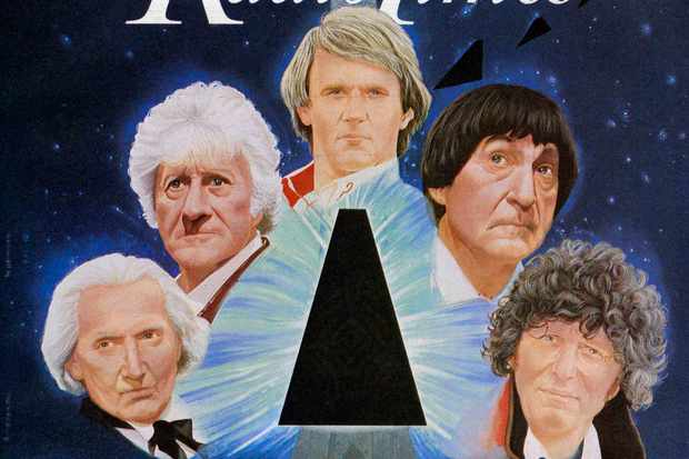 The Five Doctors RT cover