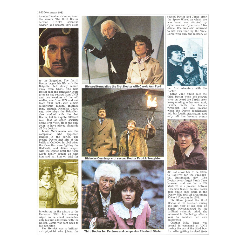 The Five Doctors RT feature p2