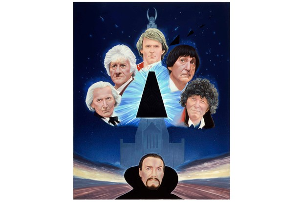 The Five Doctors cover artwork