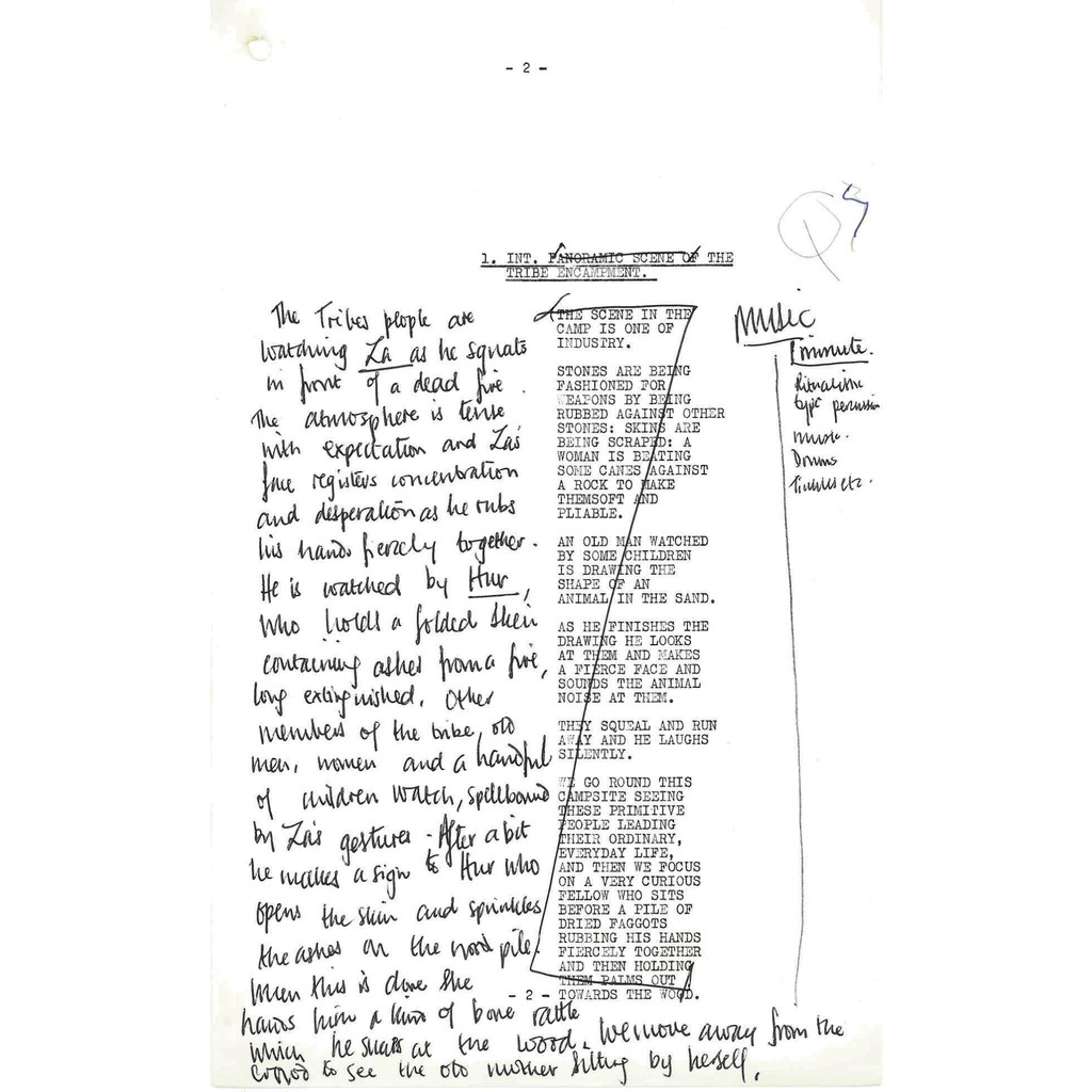 Caves rehearsal script page 2
