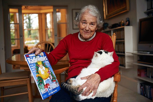 When Radio Times came to tea with Judith Kerr, Hal Shinnie