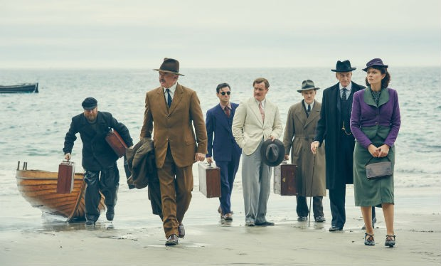 Agatha Christie S And Then There Were None Cast Aidan Turner Charles Dance Miranda Richardson Sam Neill Radio Times