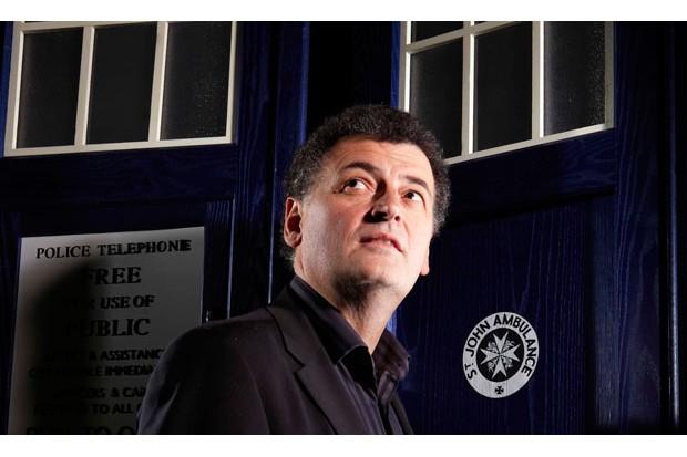 Doctor Who writer Steven Moffat (BBC, BD)