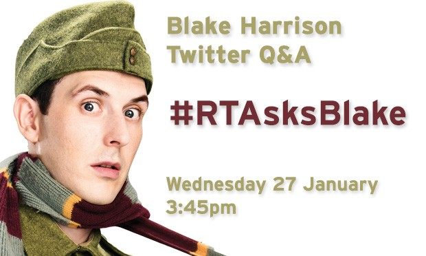Blake Harrison Dad's Army Twitter Q&A – ask Pike a question
