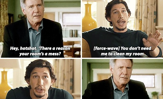 These hilarious Star Wars gifs imagine Kylo Ren's difficult teenage years