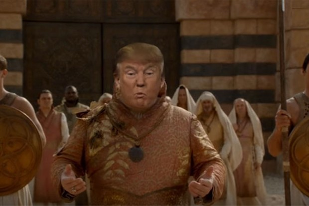 Game of Thrones Donald Trump mashup: Winter is Trumping - video