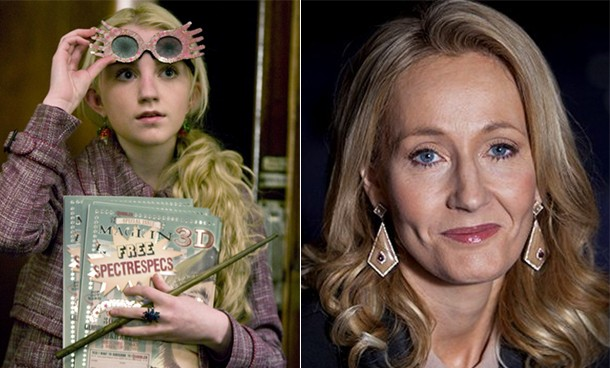 Harry Potter actress Evanna Lynch and JK Rowling used to