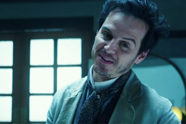 andrew scott is almost as sinister as moriarty in alice through the