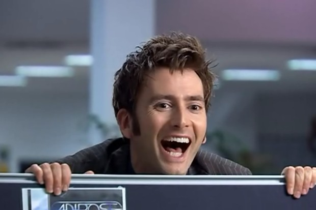 Image result for 10th doctor being cute