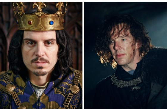 Sherlock Cast Benedict Cumberbatch And Andrew Scott Reunite For Bbc S The Hollow Crown See New Behind The Scenes Pictures Radio Times