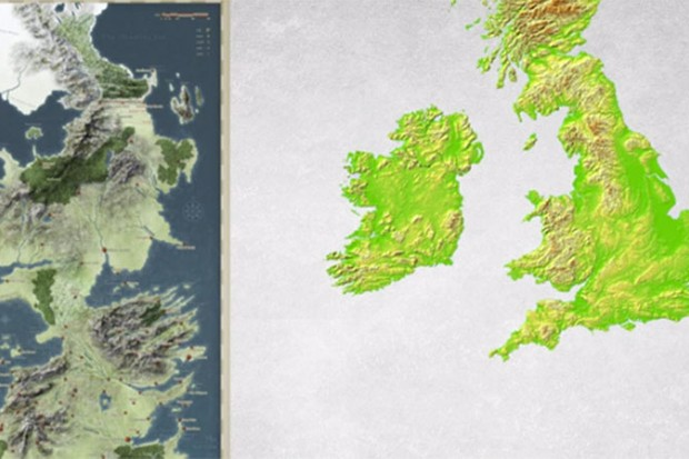World Map Flipped.How Game Of Thrones Is Based On The Real History Of Ancient Britain