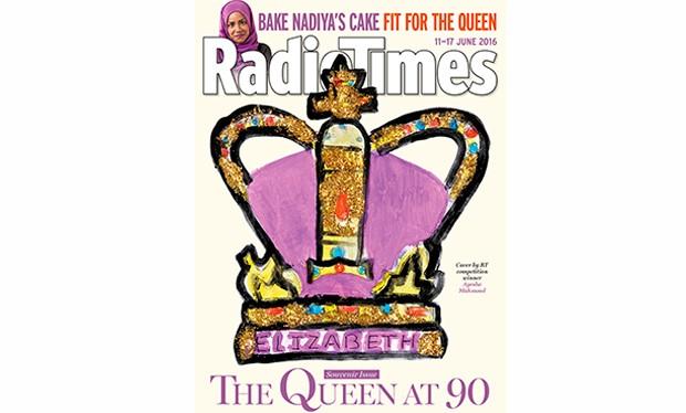 queen elizabeth keeps radio times in leather bound folder radio times