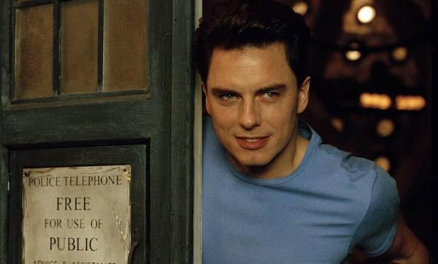 John Barrowman as Captain Jack Harkness in 2005 (BBC)