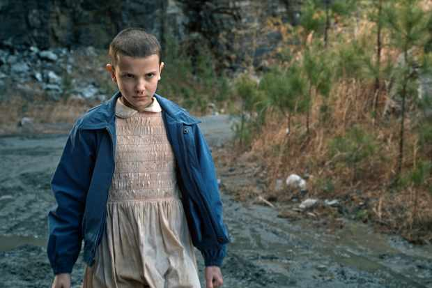 how many words does eleven say in stranger things one fan broke her