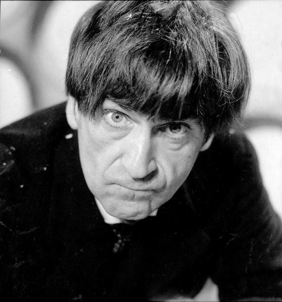 Patrick Troughton as the second Doctor. Shot number RT 3700 21.